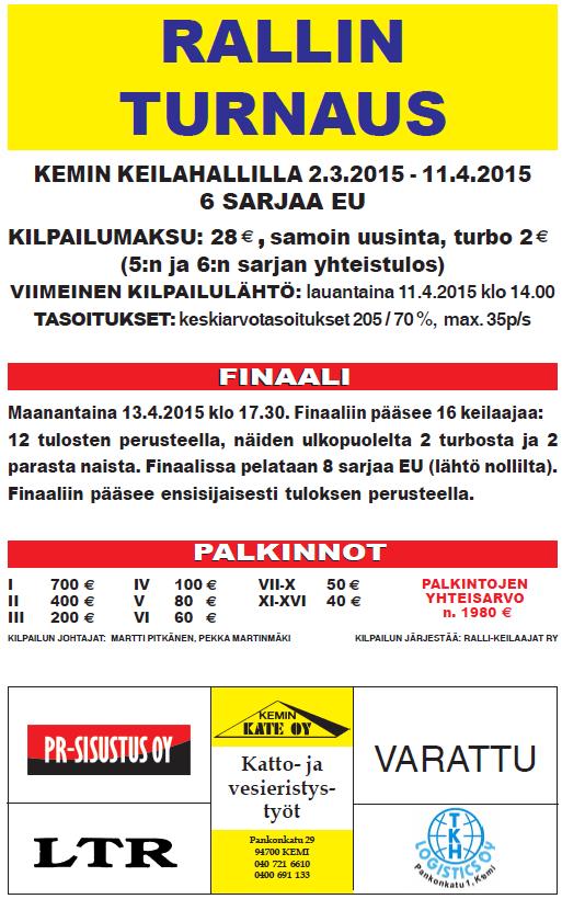 Rallin turnaus 2015