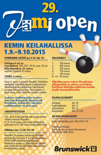29. Jämi Open